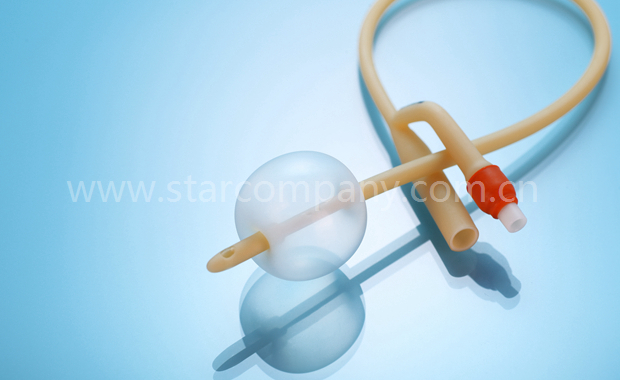 Latex Foley Catheter 2-Way standard with balloon
